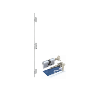 Fechadura de segurança 03 pontos Rolete – 12 pinos ref. 70200