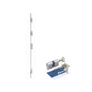 Fechadura de segurança 03 pontos com auxiliar – 16 pinos ref. 60210